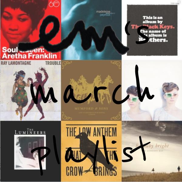Marchplaylist